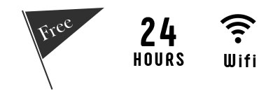 Free - 24HOURS / Wifi