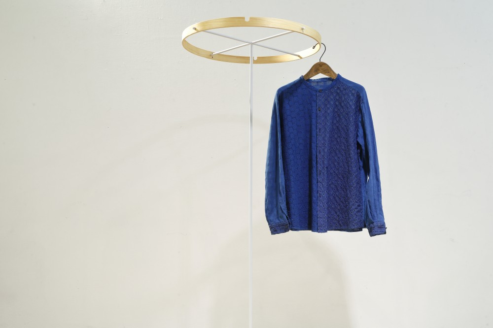 INDIGO COTTON SHIRT -