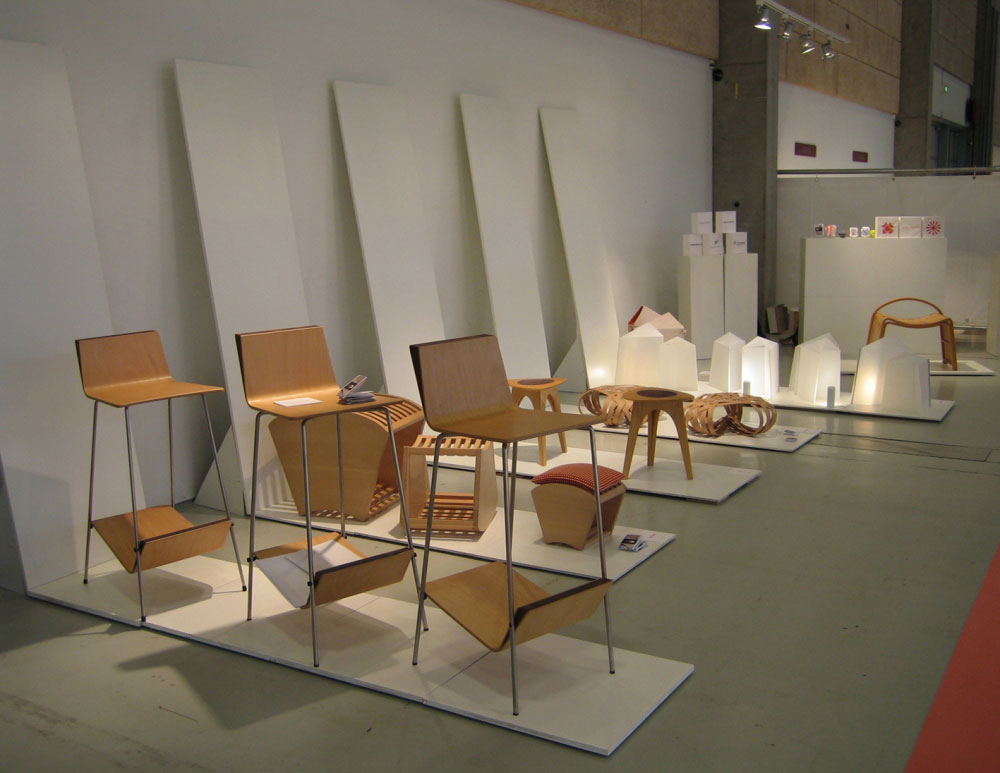 AYA + AKIKO Copenhagen Furniture Fair 2005 -