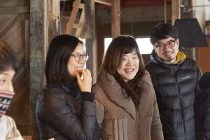 東京、福岡からの初参加の三人。