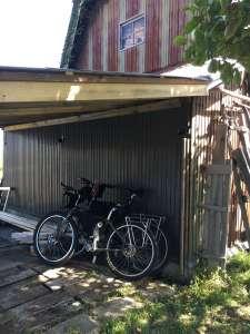 帯広から自転車でとものいえに到着。