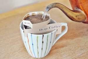 カフェインレス ドリップバッグにて -