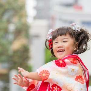 七五三の出張撮影@宇喜田稲荷神社/東京都/江戸川区 -