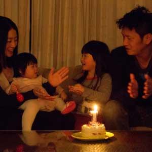 お誕生日・家族写真の出張撮影@1歳のお誕生日記念/東京都/品川区 -