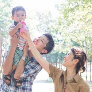 お誕生日・家族写真の出張撮影@東京都/江戸川区/葛西臨海公園 -