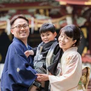 七五三の出張撮影@氷川神社(東中野)/東京都/中野区