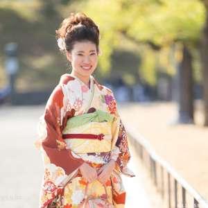 家族写真の出張撮影@成人式の記念/東京都/千代田区/皇居外苑 -