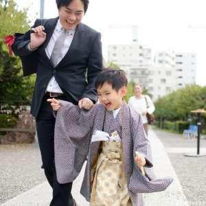 七五三の出張撮影@亀戸天神社/東京都/江東区