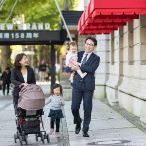 家族写真の出張撮影@公園での家族写真/神奈川県/横浜市/山下公園