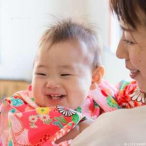 初節句・家族写真の出張撮影@初節句のお祝い/ご自宅での家族写真