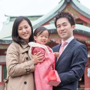 七五三の出張撮影@品川神社/東京都/品川区 -