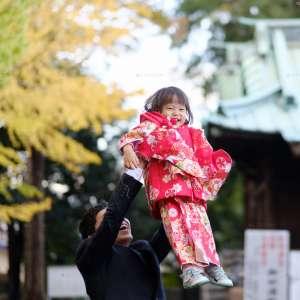 七五三の出張撮影@篠原八幡神社/神奈川県/横浜市港北区