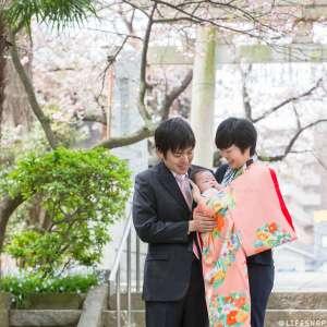 お宮参りの出張撮影@葛西神社/東京都/葛飾区 -