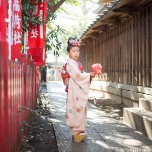 七五三の出張撮影@下谷神社/東京都/台東区