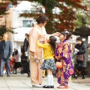 七五三の出張撮影@八坂神社/東京都/東村山市