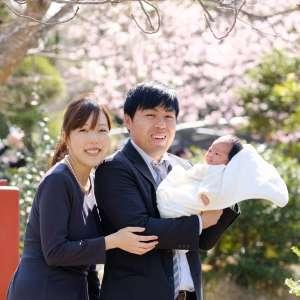 お宮参りの出張撮影@鶴岡八幡宮/神奈川県/鎌倉市 -