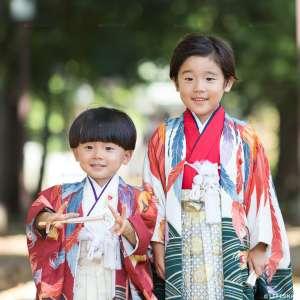 七五三の出張撮影@八幡八雲神社/東京都/八王子市 -