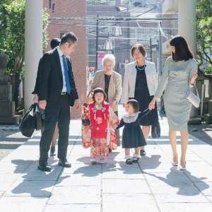 七五三の出張撮影@天祖神社(豊島区南大塚)/東京都/豊島区 -
