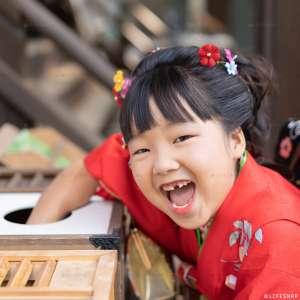 七五三の出張撮影@七社神社/東京都/北区 -