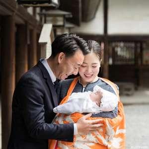 お宮参りとお食い初めの出張撮影@秩父神社/埼玉県/秩父市 -