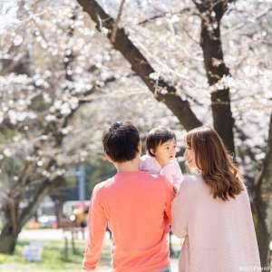 家族写真の出張撮影@公園での家族写真/東京都/港区/芝公園 -