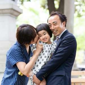 家族写真の出張撮影@結婚5周年の記念/東京都/港区/赤坂氷川神社 -