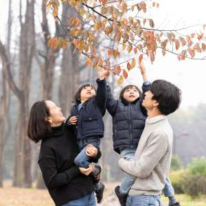 家族写真の出張撮影@公園での家族写真/東京都/小金井市/小金井公園 -