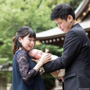 お宮参りの出張撮影@赤羽八幡神社/東京都/北区 -