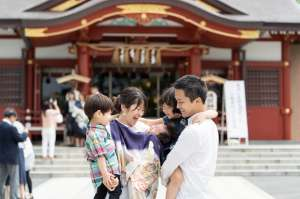 お宮参り 稲毛浅間神社/千葉県・千葉市 -