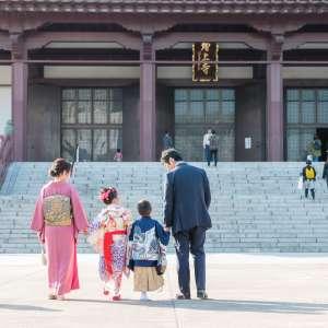 七五三の出張撮影@増上寺/東京都/港区 -