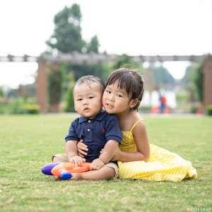 お誕生日・家族写真の出張撮影@1歳のお誕生日記念/神奈川県/横浜市中区/山下公園 -