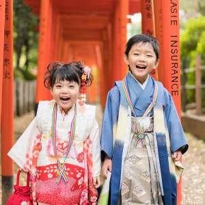 七五三の出張撮影@根津神社/東京都/文京区 -