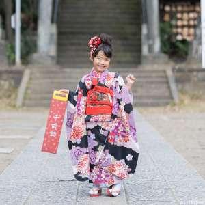 七五三の出張撮影@篠崎浅間神社/東京都/江戸川区 -