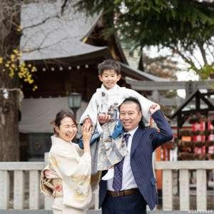 七五三の出張撮影@草加神社/埼玉県/草加市 -