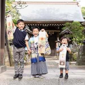 七五三の出張撮影@白幡天神社/千葉県/市川市 -