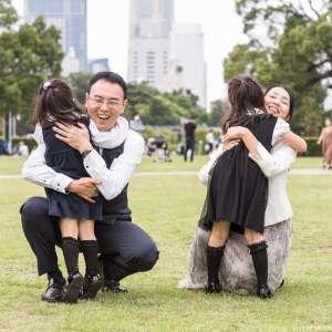 家族写真の出張撮影@公園での家族写真/神奈川県/横浜市中区/山下公園 -