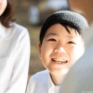 お誕生日・家族写真の出張撮影@10歳のお誕生日記念/東京都/大田区/田園調布せせらぎ公園 -