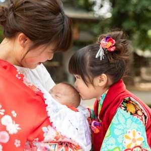 七五三とお宮参りの出張撮影@ときわ台天祖神社/東京都/板橋区 -