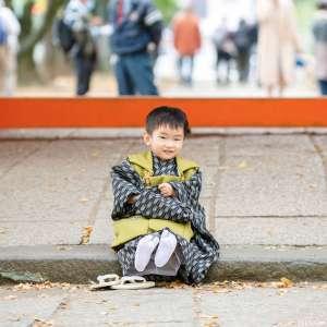 七五三の出張撮影@葛飾八幡宮/千葉県/市川市 -