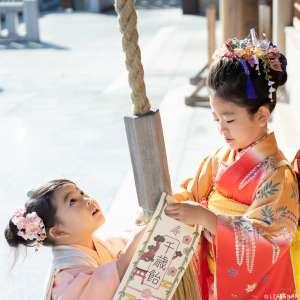 七五三の出張撮影@石浜神社/東京都/荒川区 -