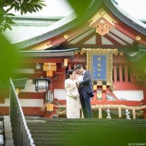 お宮参りの出張撮影@日枝神社/東京都/千代田区 -