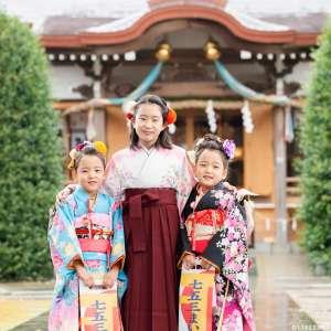 七五三とハーフ成人式の出張撮影@北野神社/東京都/板橋区 -