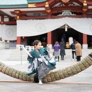 七五三の出張撮影@日枝神社/東京都/千代田区 -