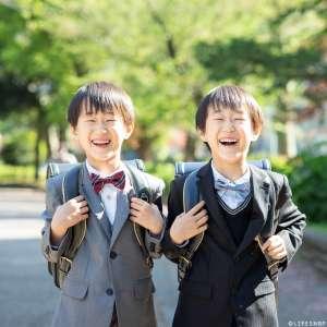 家族写真の出張撮影@入学の記念/東京都/台東区/ 上野恩賜公園 -