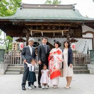 お宮参りの出張撮影@松戸神社/千葉県/松戸市 -