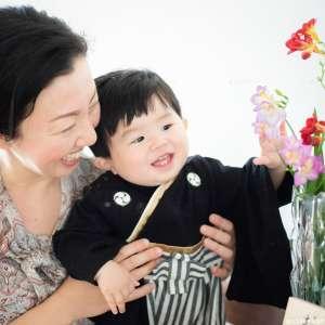 初節句・家族写真の出張撮影@初節句のお祝い/東京都 -