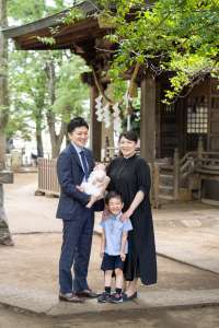 お宮参り 碑文谷八幡宮/東京都・目黒区 -