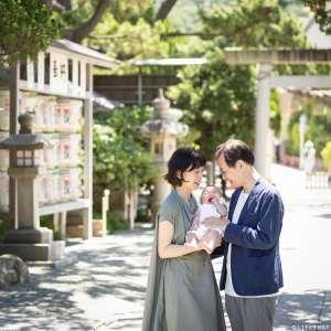 お宮参りの出張撮影@森戸大明神/神奈川県/三浦郡 -