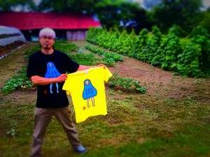 限定発売『だるまるTシャツ』完成!! - 限定発売『だるまるTシャツ』完成しました!「Art shop 樽前堂」にて、お目見えです。『だるT』どこ?って、お声かけください!