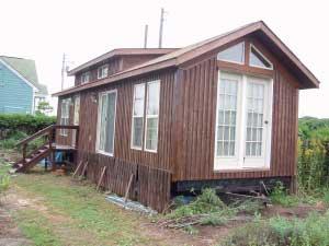 トレーラーハウス改修工事北海道長沼町